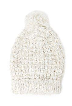 шапка с пумпоном