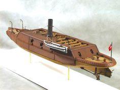 Cottage Industry Models - CSS Arkansas Ironclad