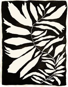 Stamp / Silkscreen Inspiration (by Kate Roebuck) Inspiration Art, Art Inspo, Pattern Vegetal, Illustrations, Illustration Art, Black White Art, Motif Floral, Art Graphique, Painting & Drawing