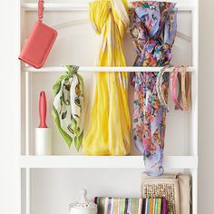 Build this closet door organizer to keep small items easily accessible. #DIY