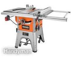Table saw review photo of Ridgid R4512