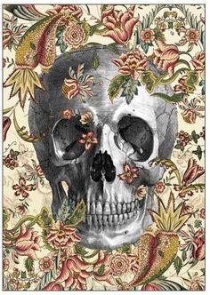 Dan Hillier, Art, Skull
