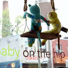 Baby On The Hip  | 11 Best Baby Gear Stores in Toronto    - Aptly named as it attracts hipsters (and those not so hip, but also in need of quality kid products) from its downtown neighbourhood and beyond, Queen West based Baby on the Hip has it all covered when it comes to anything your little babe needs or desires.