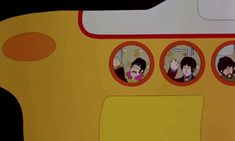 Trending GIF the beatles yellow submarine Yellow Submarine Movie, Bip Bip, Have A Laugh, S Word, The Beatles, Things To Come, Paul Mccartney, Gifs, Animation