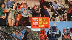 Turkish remakes of 1960s to 1980s Hollywood blockbusters! Superhero, sci-fi, and others.