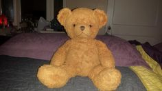 """Lost on 02 Jan. 2016 @ Unknown. I'm seeking an exact teddy bear like the one pictured. Any leads or info would be greatly appreciated. He has a bean bag bottom, """"2002"""" embroidered on his left foot, threaded nose and mouth, and is... Visit: https://whiteboomerang.com/lostteddy/msg/1beadd (Posted by Erika on 10 Jan. 2016)"""