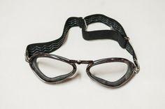 c35ccb40bd4 Aviator Retro Special Goggles - Black Pneumatic Rubber