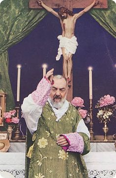 PRAYER FOR SAINT PADRE PIO OF PIETRELCINA INTERCESSION