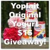 Yoplait 25% Less $15 Giveaway!