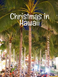 What's Christmas like in Hawaii? 2018 Edition - Go Visit Hawaii What Is Christmas, Christmas Travel, Coastal Christmas, Christmas Vacation, Beach Christmas, Christmas 2019, Kauai Vacation, Hawaii Travel, Vacation Ideas