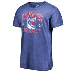 Men s Fanatics Branded Royal New York Rangers Vintage Collection Old  Favorite Shadow Washed T-Shirt e4a00f1b2da