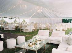 Lauren + Cameron — Bridal Bliss Tent Reception, Outdoor Ceremony, Wedding Reception, Reception Ideas, Luxe Wedding, Summer Wedding, Wedding Day, Stunning Summer, Party Places
