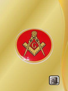 Calcomanía Logo Roja
