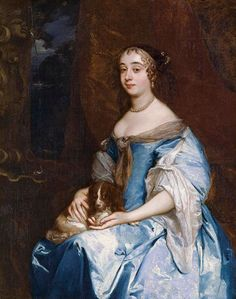 1660s - Lady Margaret Parker by Sir Peter Lely