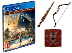 Get your copy! Assassins Creed Origins Limited Edition (Exclusive to Amazon.co.uk) (PS4)