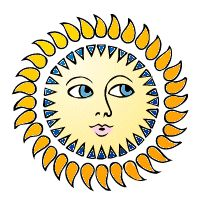The stories La tells....: SUN Blog 1 -- Why the Sun and the Moon Live in the Sky