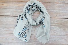100% Cotton Scarf, by Stella and Gemma.