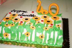 #Auguri tra i fiori...Creazione della pasticceria La Mimosa di Tollo http://www.simocakedesigner.it
