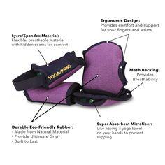 Amazon.com : Yoga Paws Skin Thin - Non-Slip Grip Toeless Socks & Fingerless Gloves - Engineered Fit - Best Yoga Mats For Hands & Feet - Unmatched Performance - Yoga, Pilates, Fitness - Unisex Design 4 Men & Women : Sports & Outdoors