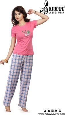 :) :) Cooling Days Shopping :) :) ✔ Sunwin Women's Woven Top & Pyjama Set 70% OFF ✔ Starting Range:- 399/- ₹ [FLAT 70% OFF]   Shop Now :- http://fkrt.it/QRy28NNNNN #Buyonlineshopping #Flipkart #Women #Night #Suit