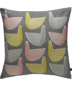 Buy Habitat Pennie Multi-Coloured Bird Cushion - 45x45cm at Argos.co.uk - Your Online Shop for Cushions.