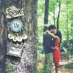 cute save the date pic