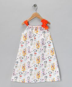 cute ribbon dress from designer friend coradorables, on zulily.com now!