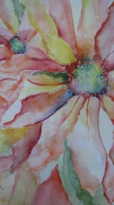 This painting is Amazing!!!   She Loves Me - watercolor