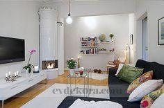 Neşeli, rahat bir ev tasarımı evdekora.com
