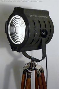 VINTAGE 1950S NEW YORK THEATRE LIGHT ART DECO ANTIQUE INDUSTRIAL LOFT LAMP EAMES | eBay