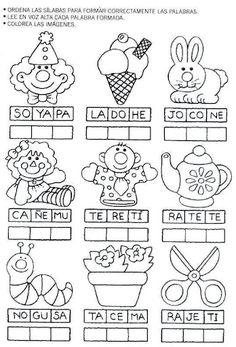 actividades para preescolar | pintar y jugar