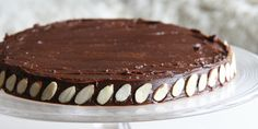 From My Corner of England: Tried and Tested: Julia Childs Chocolate Cake with Al… De mon coin d'Angleterre: Essayé et … Almond Recipes, Food Cravings, Chocolate Cake, Tiramisu, Delish, Pie, Sweets, Meals, Baking