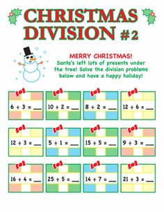 math worksheet : christmas math worksheets christmas math and math worksheets on  : Christmas Division Worksheets