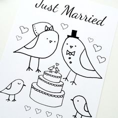 just married coloring page - 1000 images about printable coloring books pages on