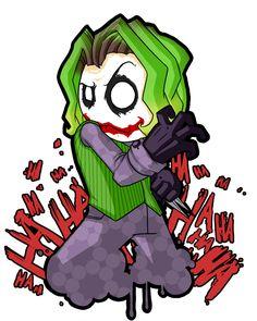 Mini chibi Joker by scribblepit.deviantart.com on @DeviantArt