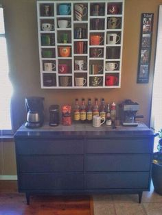 Coffee bar for your kitchen