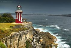 Hornby Lighthouse is located on the tip of South Head. It is the third oldest lighthouse in Australia and is currently operated by Sydney Ports Corporation