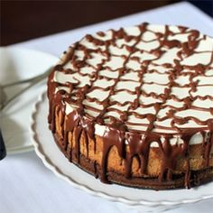 Kahlua Cheesecake. Jennifer needs to make this