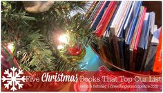 Five Christmas Books That Top Our List — Preschoolers and Peace Best Christmas Books, Christmas Projects, All Things Christmas, Christmas Holidays, Christmas Gifts, Christmas Decorations, Christmas Ornaments, Holiday Decor, New Morning Mercies
