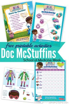 Gear up your kids for fun with these Doc McStuffins printables including activities, worksheets, a checklist and even adorable paper dolls. These fun activity sheets will keep your kids busy and having fun. (sponsored)