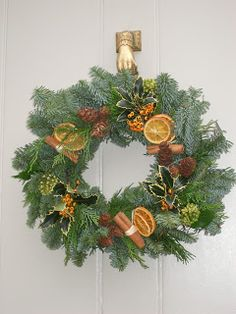 greengarland: Orange and Cinnamon Wreath