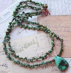 My Business - t u r q u o i s e  a f f a i r 2, lots of necklaces