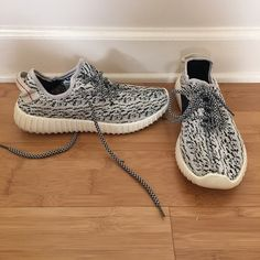 4874fb97147 Unisex Adidas Yeezy 350 Boost Classic Grey White With Wholesale Price and Free  Shipping