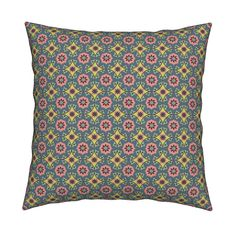 Meet the Catalan knife-edge pillow, available in square or lumbar sizes. Organic cotton, durable canvas or linen-cotton with image on both sides. Throw Cushions, Custom Fabric, Spoonflower, Organic Cotton, Meet, Ship, Canvas, Image, Design