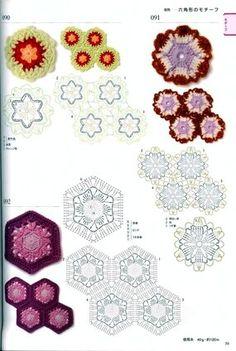 View album on Yandex. Crochet Edging Patterns, Crochet Mandala Pattern, Crochet Quilt, Crochet Cross, Crochet Diagram, Crochet Yarn, Crochet Flowers, Stitch Patterns, Crochet Edgings