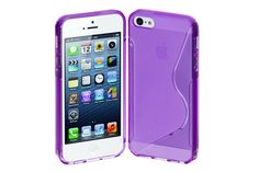 Crystal Matte S-Line Flexible TPU Rubber Protector Cases for iPhone 5s & iPhone 5 | Lagoo Tech