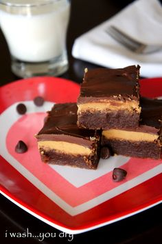 Peanut Butter Cup Fudge Brownies - this recipe is priceless. We like them more than normal brownies!