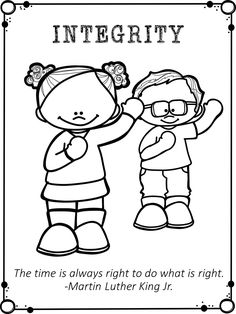 Martin Luther King Jr Activity Worksheets Coloring Pages Posters