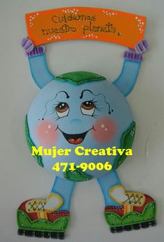 Planetaosbs Foam Crafts, Preschool Crafts, Crafts To Make, Crafts For Kids, Paper Crafts, Learning Activities, Kids Learning, Activities For Kids, Earth Day Crafts