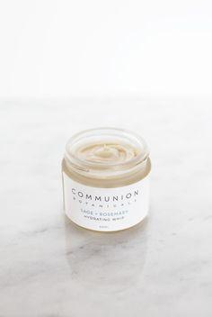Communion Botanicals Hydrating Sage Whip Communion, Sage, Skincare, Food, Meal, Salvia, Skincare Routine, Eten
